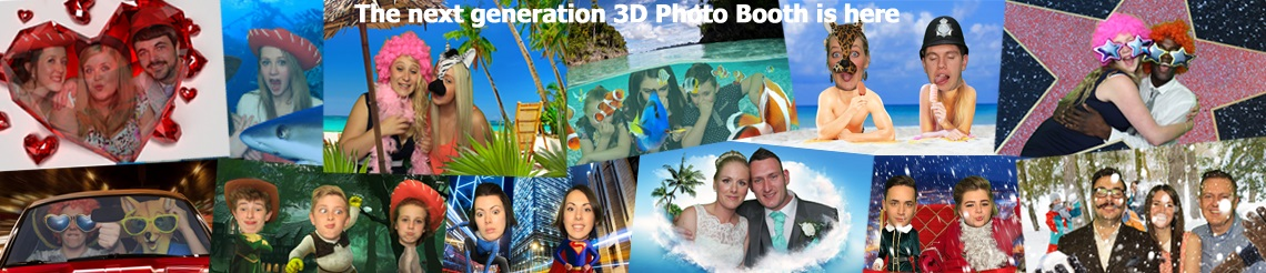 3D deluxe Photo Booth Hire Pictures