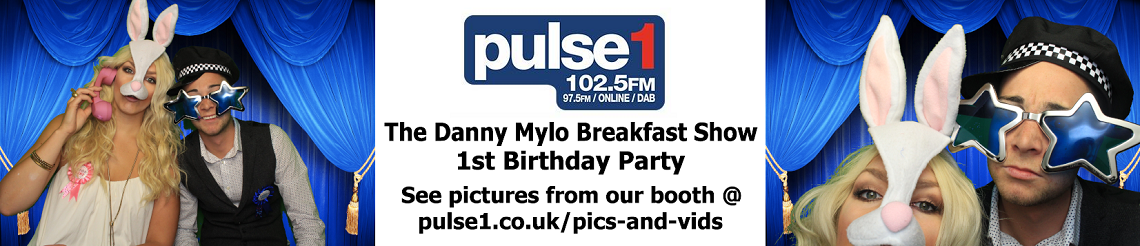 Pulse 1 Danny Mylo Breakfast Show Birthday Party