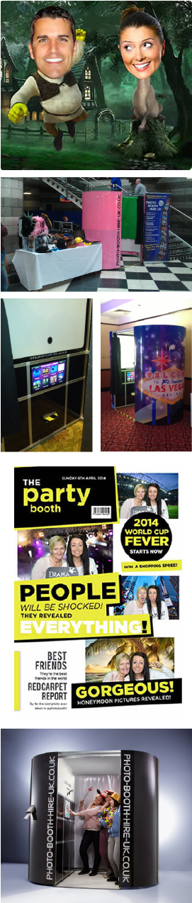 Examples of our booths