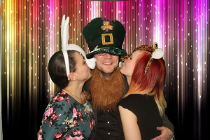 Bonmarche Christmas Party with our standard photo booth