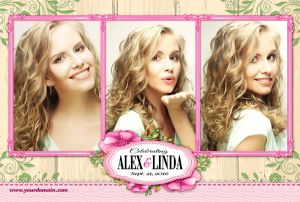 Country Garden Photo Layout