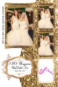 Glitz and Glam Photo Layout