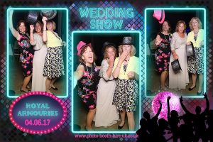 Neon Party Photo Layout