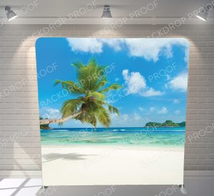 Tropical Paradise Backdrop