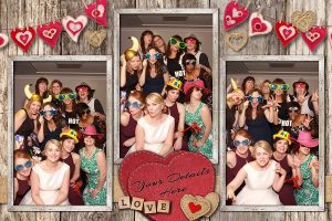 Rustic Hearts Photo Layout
