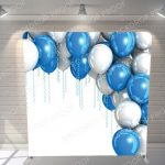 Shiny Balloons Backdrop