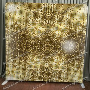 Small Gold Sequins Backdrop