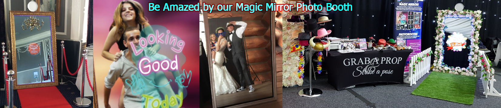 Country Garden Magic Mirror Photo Booth